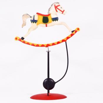 Vintage Διακοσμητικό Ισορροπιστής Άλογο 36.0cm