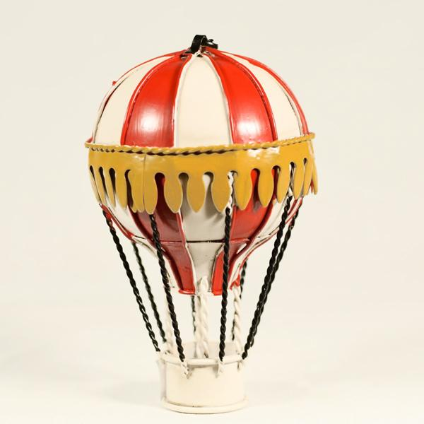 Vintage Διακοσμητικό Αερόστατο Κρεμαστό 13.0cm