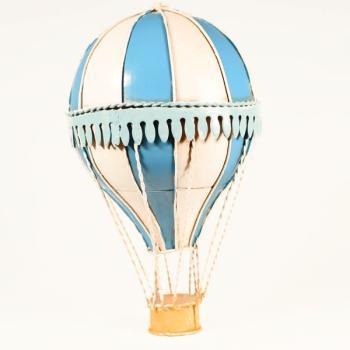 Vintage Διακοσμητικό Αερόστατο Κρεμαστό 20.0cm