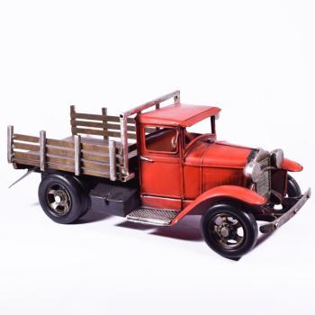 Vintage Διακοσμητικό Φορτηγό Κόκκινο 35.0cm
