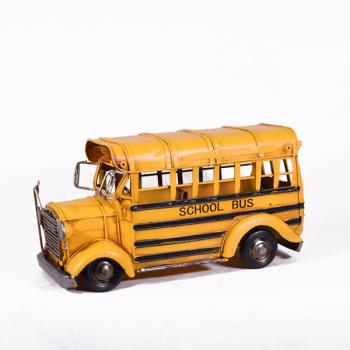Vintage Διακοσμητικό School bus 28.0cm
