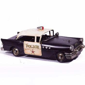 Vintage Διακοσμητικό Περιπολικό αυτοκίνητο 32.0cm
