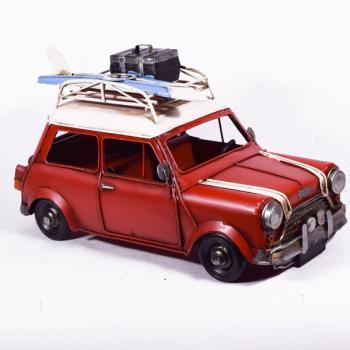 Vintage Διακοσμητικό Κόκκινο Mini Surf 28.5cm