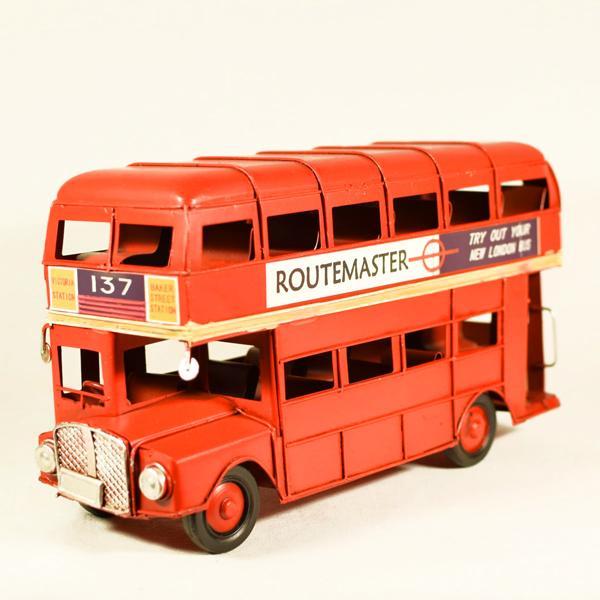 Vintage Διακοσμητικό London λεωφορείο 25.0cm