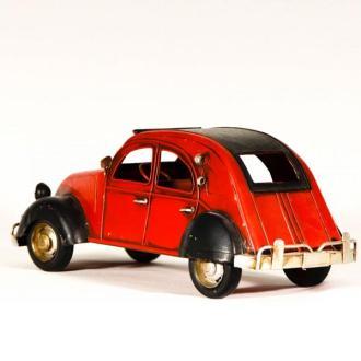 Vintage Μινιατούρα σιδερένια μεγάλων διαστάσεων Ντεσεβώ Κόκκινο 26cm
