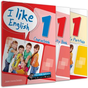 ΠΑΚΕΤΟ ΜΕ i-BOOK I LIKE ENGLISH 1 SUPER COURSE