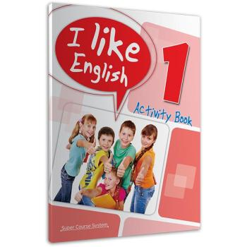 I like English 1 Activity Book SUPER COURSE