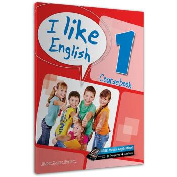 I like English 1 Coursebook SUPER COURSE