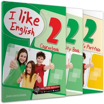 ΠΑΚΕΤΟ ΜΕ i-BOOK + REVISION ΜΕ 1 AUDIO CD I LIKE ENGLISH 2 SUPER COURSE