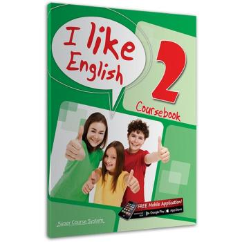 I like English 2 Coursebook SUPER COURSE