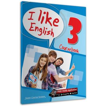 I like English 3 Coursebook SUPER COURSE