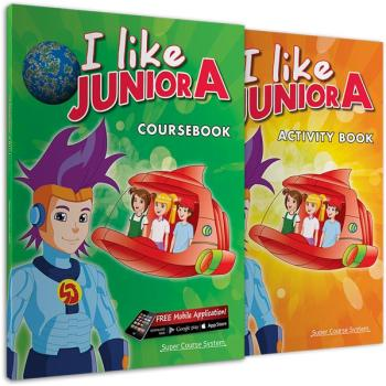 ΠΑΚΕΤΟ ΜΕ i-BOOK ΚΑΙ ΔΩΡΑ I LIKE JUNIOR A SUPER COURSE