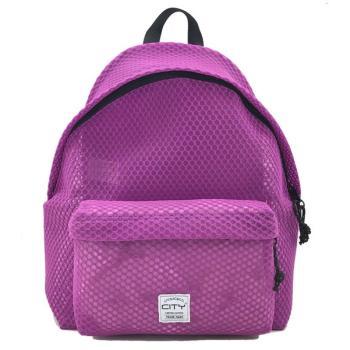 Σχολική τσάντα πλάτης CITY 41x30x15 THE DROP SPECIAL 20817 PURPLE DOTS