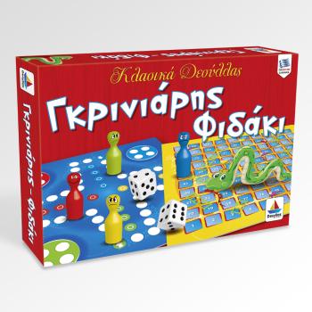 Κλασσικό παιχνίδι Γκρινιάρης – Φιδάκι (5+ ετών)