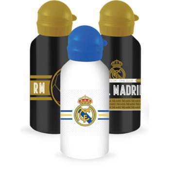 Σχολικό παγουρίνο DIAKAKIS μεταλλικό με καπάκι 500ml Real Madrid 170528 (3 σχέδια)