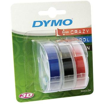 DYMO Ετικέτες 9mm x 3M White on RED/BLUE/BLACK S0847750