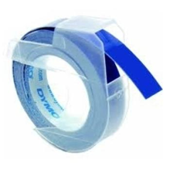 DYMO Ετικέτες 9mm x 3M White On Blue S0898140 (10 ΤΕΜ)