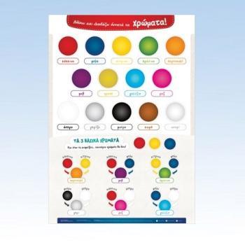 Χρώματα - Εκπαιδευτικές αφίσες