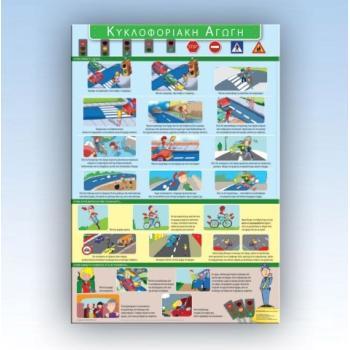 ΚΥΚΛΟΦΟΡΙΑΚΗ ΑΓΩΓΗ - Εκπαιδευτικές αφίσες