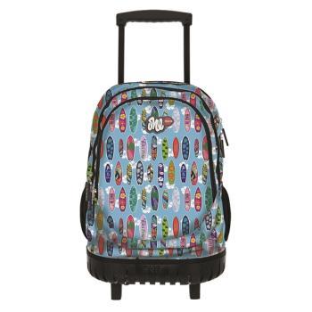 Σχολική τσάντα τρόλεϋ CITY ONE ROCK N ROLL 93047 SURFING
