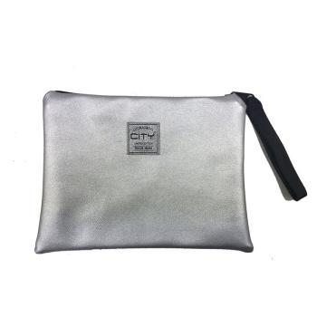 Τσαντάκι χειρός LYCSAC CITY SAFE POCKET SPEC 12215 SILVER FOR EVER