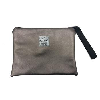 Τσαντάκι χειρός LYCSAC CITY SAFE POCKET SPEC 18115 BRONZE FOR EVER