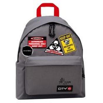 Σχολική τσάντα πλάτης CITY THE DROP MAIRIBOO 98717 STEEL GREY