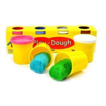 Πλαστοζυμαράκια PLAY-DOUGH MAXI 4 χρώματα 100gr