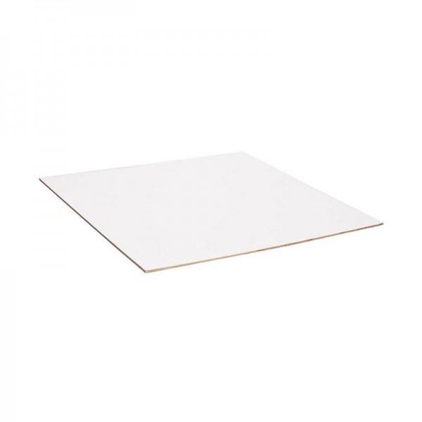 Λευκή πινακίδα ελεύθερου σχεδίου 40x60cm HARDBOARD
