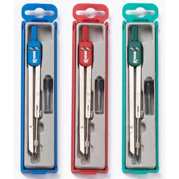 Διαβήτης σχολικός KRONOS 303 σε κουτάκι 3 χρώματα