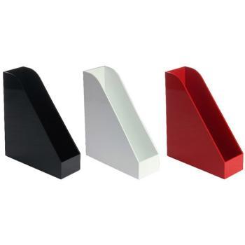 Θήκη περιοδικών πλαστική OSCO (3 χρώματα)