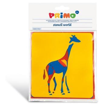 Στένσιλ PRIMO CMP 761ST1 ANIMALS 6τεμ