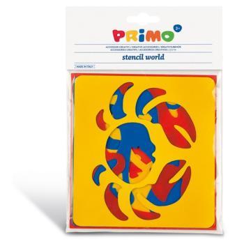 Στένσιλ PRIMO CMP 762ST2 SEALIFE ANIMALS 6τεμ