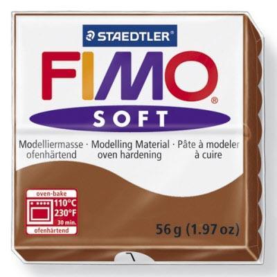 Πηλός Caramel STAEDTLER 56gr FIMO-SOFT 8020