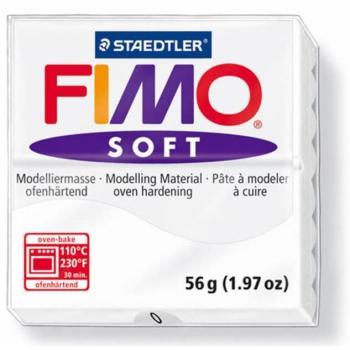 Πηλός Διάφανος λευκός STAEDTLER 56gr FIMO-SOFT 8020