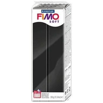Πηλός μαύρος STAEDTLER 350gr FIMO-SOFT 8022