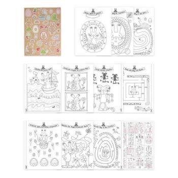 Παιδικό αξεσουάρ TREND Βιβλιαράκι 950550 LITTLE SWEET PAINT & GAMES & STICKERS