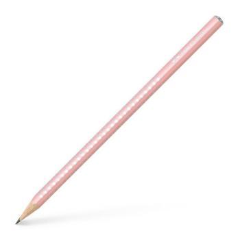 Μολύβι FABER CASTELL Sparkle B ροζ απαλό 118201