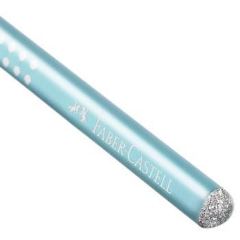 Μολύβι FABER CASTELL Sparkle B τιρκουάζ 118205