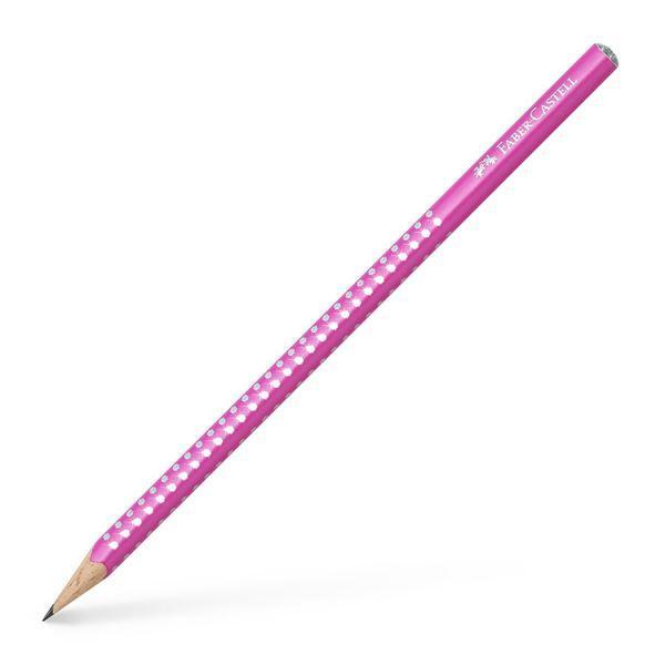 Μολύβι FABER CASTELL Sparkle B ροζ 118212