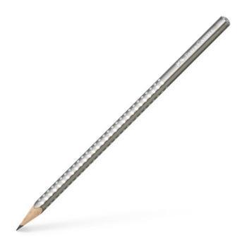 Μολύβι FABER CASTELL Sparkle B ασημί 118213