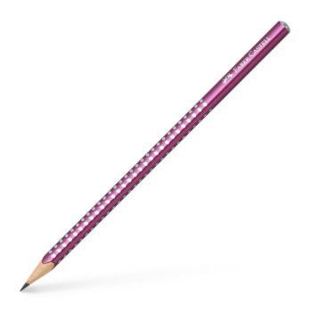 Μολύβι FABER CASTELL Sparkle B μπορντώ 118215