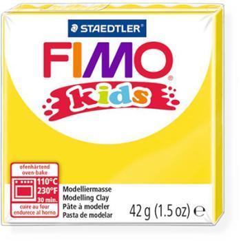 Πηλός Κίτρινος STAEDTLER 42gr FIMO-KIDS 8030