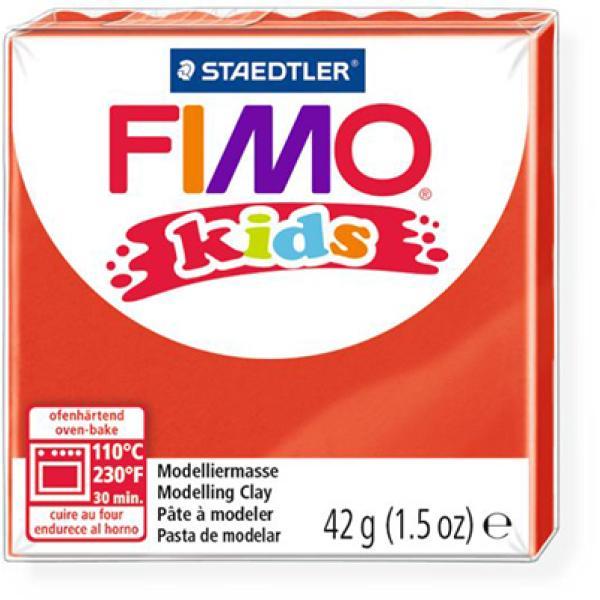 Πηλός Κόκκινος STAEDTLER 42gr FIMO-KIDS 8030