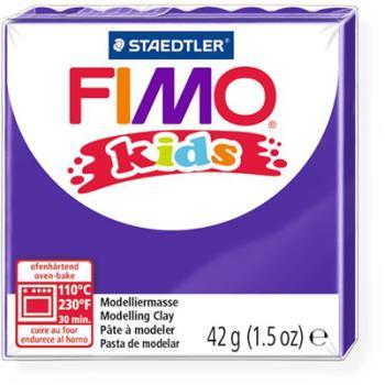 Πηλός Μωβ STAEDTLER 42gr FIMO-KIDS 8030