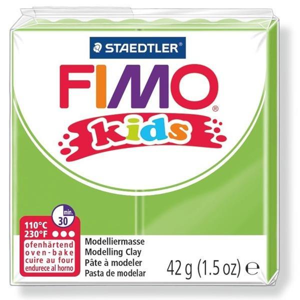 Πηλός Πράσινο Ανοιχτό STAEDTLER 42gr FIMO-KIDS 8030