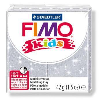 Πηλός Λευκός με glitter STAEDTLER 42gr FIMO-KIDS 8030
