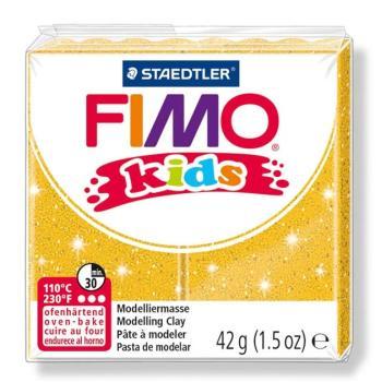 Πηλός Χρυσός με Glitter STAEDTLER 42gr FIMO-KIDS 8030