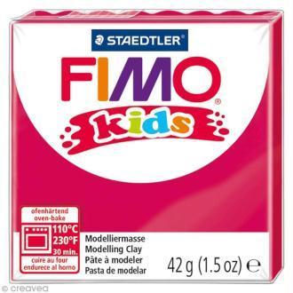 Πηλός Φούξια STAEDTLER 42gr FIMO-KIDS 8030