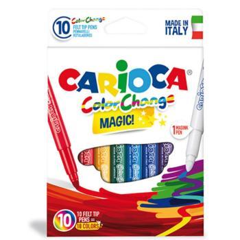Μαρκαδόροι Ζωγραφικής CARIOCA COLOR CHANGE MAGIC 42737 (10 μαρκαδόροι)